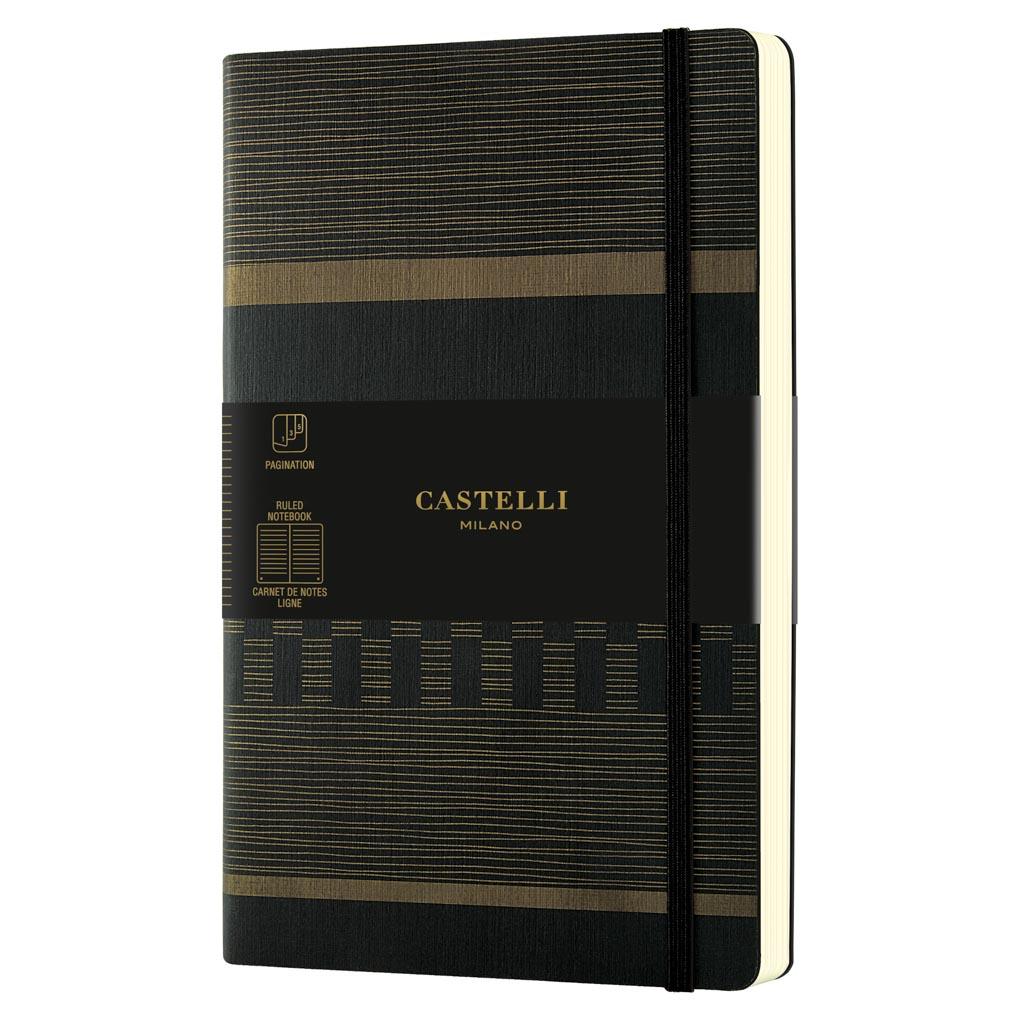 """Castelli Blok """"TATAMI"""", MEDIUM, linajkový, 120 l., Dark Espresso"""