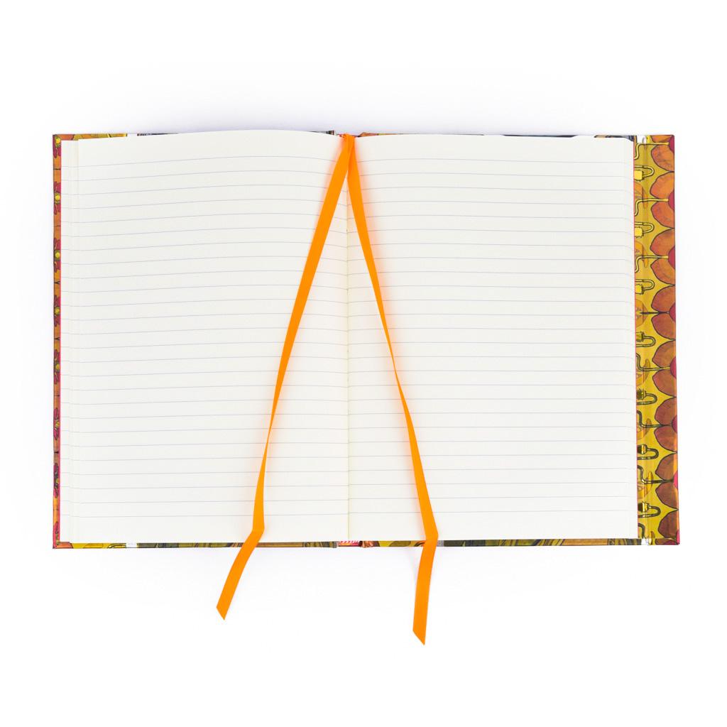 Zápisník A5, s magnetom, linajkový, 176 l. - Mucha: Prvosienková žena