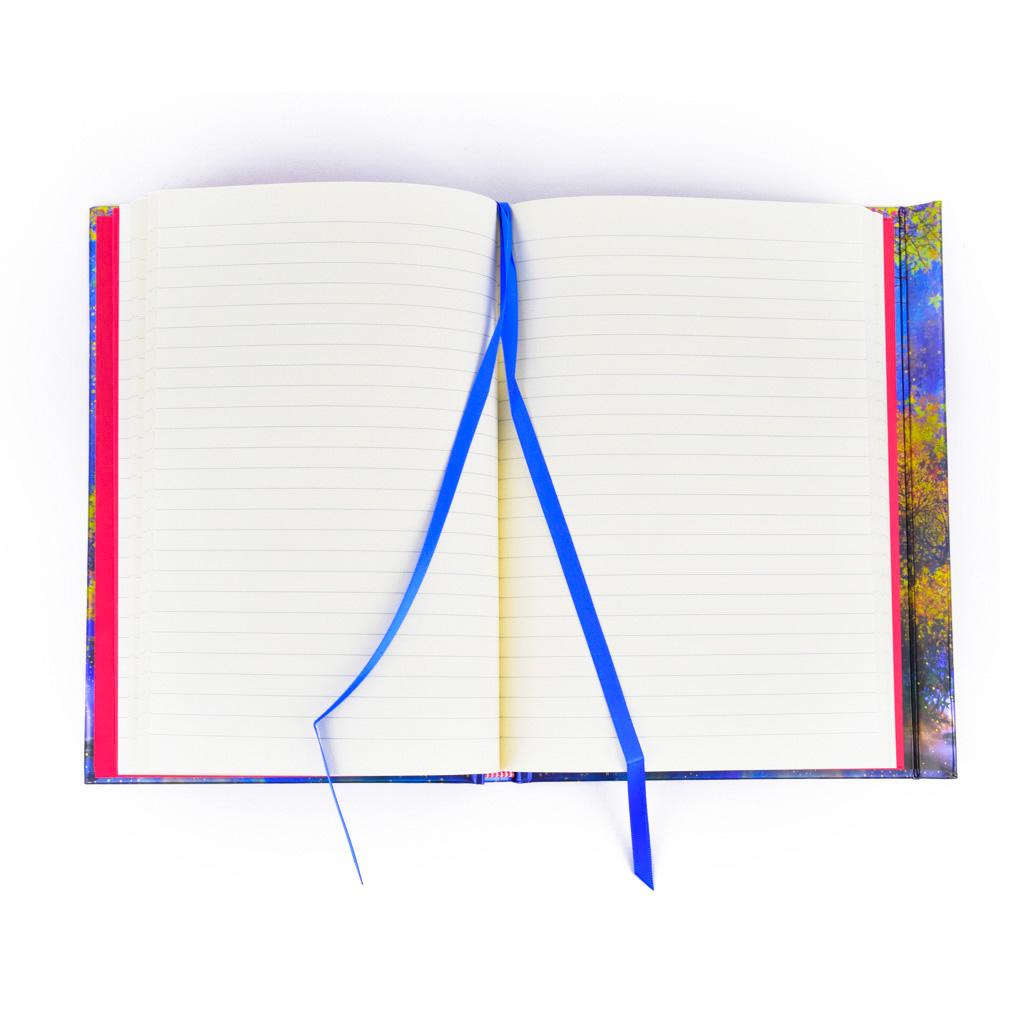 Zápisník A5, s magnetom, linajkový, 176 l. - Elena Goryachkina: Sofia a jednorožec