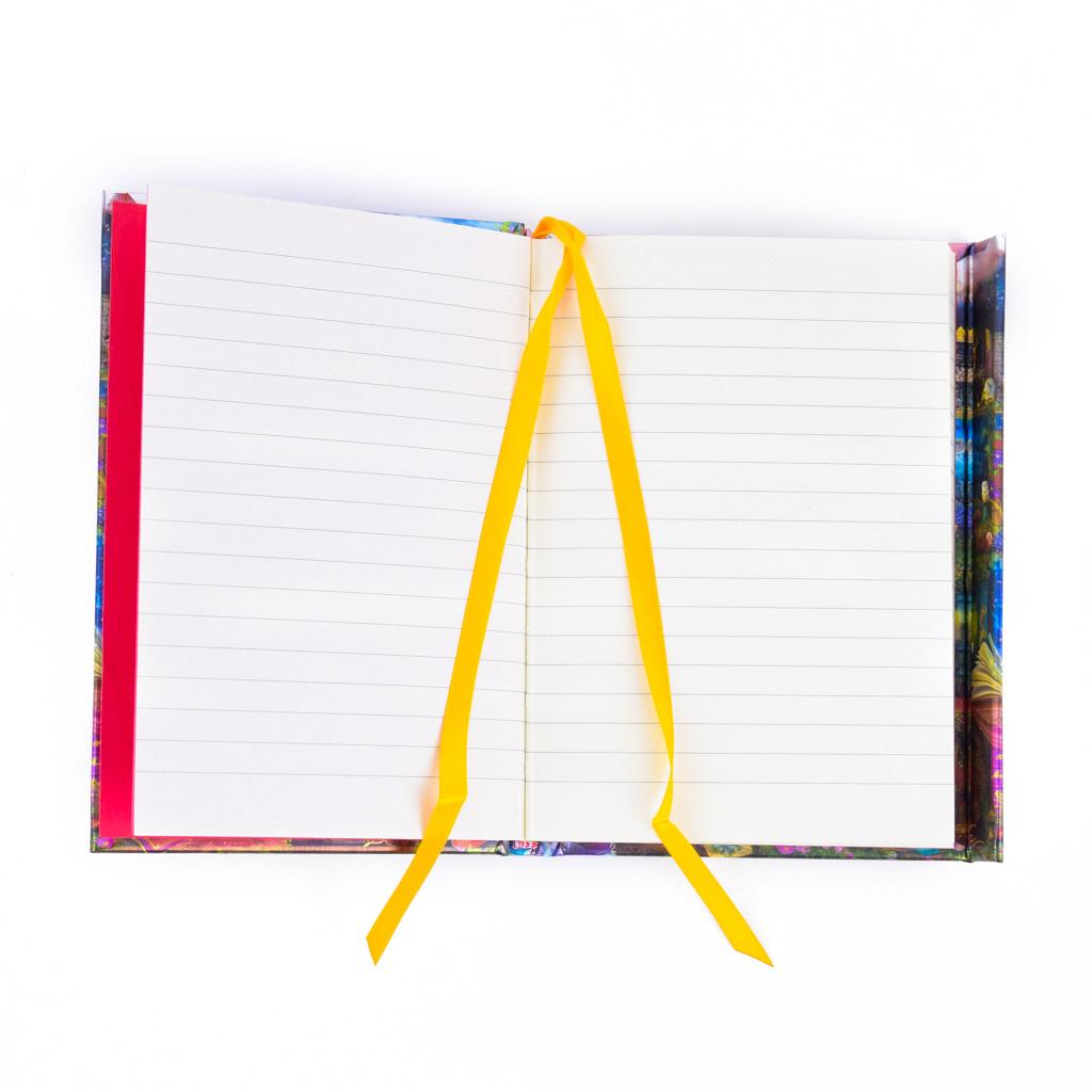 Vreckový zápisník A6, s magnetom, linajkový, 176 l. - Aimee Stewart: Hon na poklady