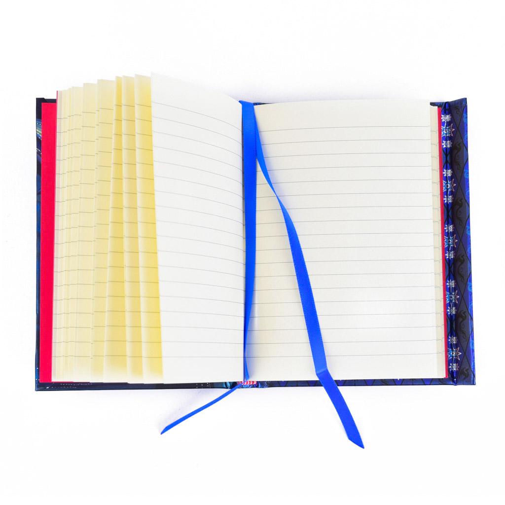Vreckový zápisník A6, s magnetom, linajkový, 176 l. - Anne Stokes: Kde bolo tam bolo