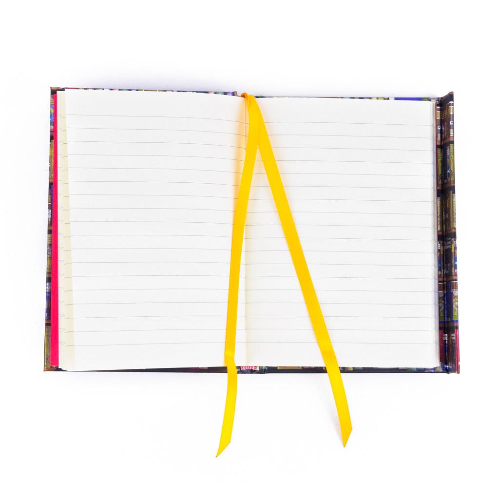 Vreckový zápisník A6, s magnetom, linajkový, 176 l.  - Záľuby a voľný čas