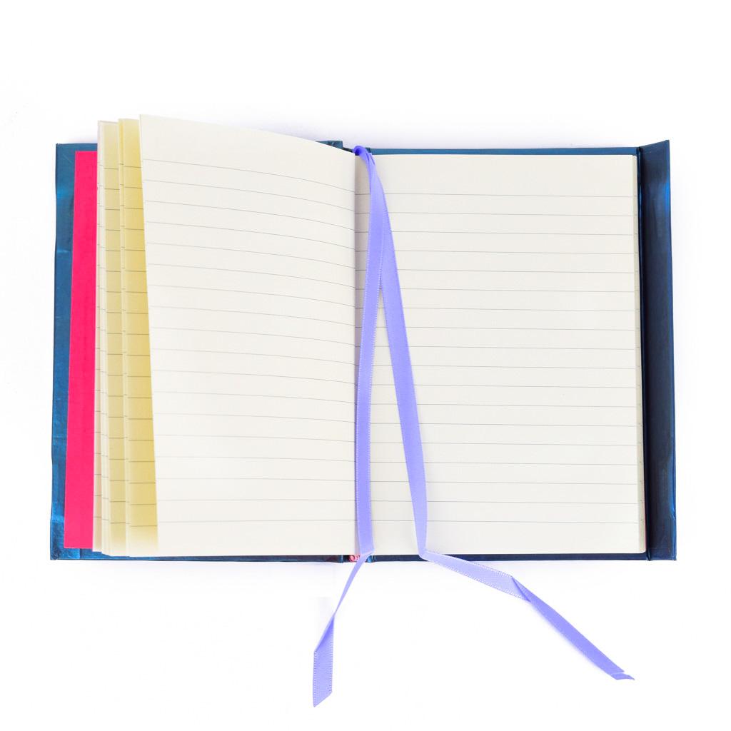 Vreckový zápisník A6, s magnetom, linajkový, 176 l. - Henry: Mesačná dievčina
