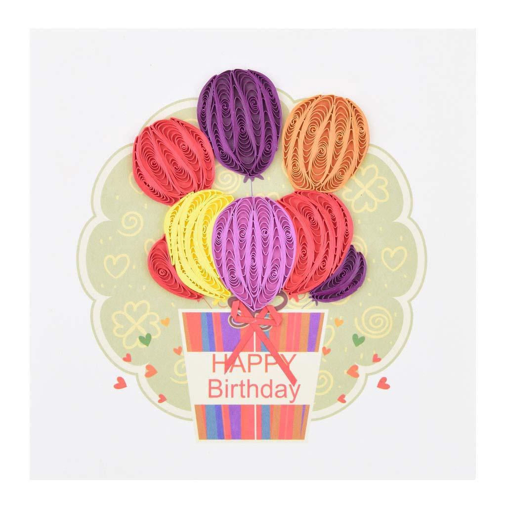 Blahoželanie balóny, ručná výroba, rozmer 15x15 cm