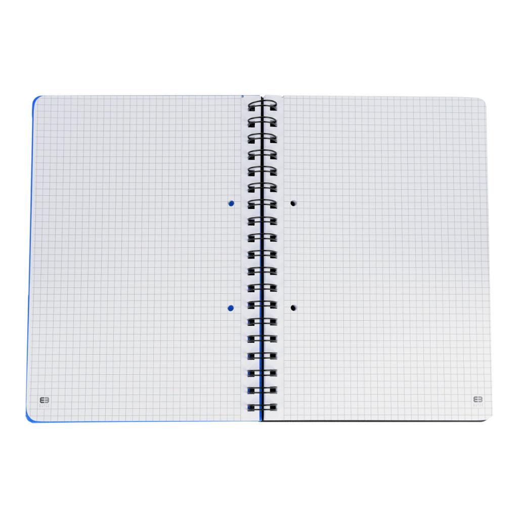 Poznámkový blok B5 so špírálou, Gentleman,100 listový, štvorčekový, mix motívov