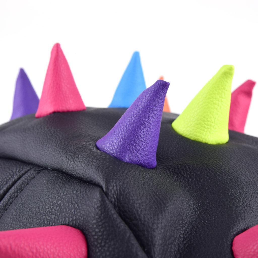"""Batoh """"Spiketus-Rex"""" čierny s farebnými prvkami, veľkosť M"""