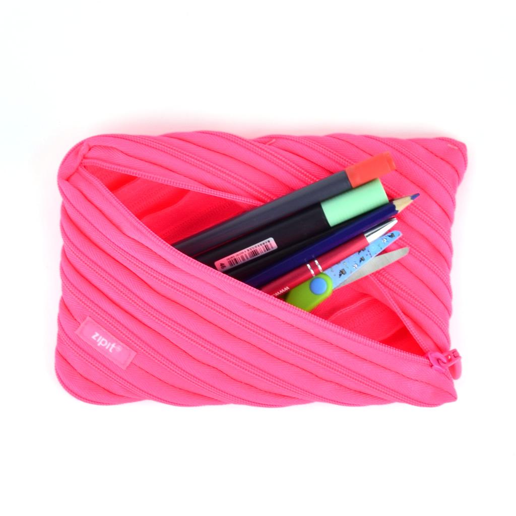 """Peračník etue """"Neon Jumbo"""", ružový"""