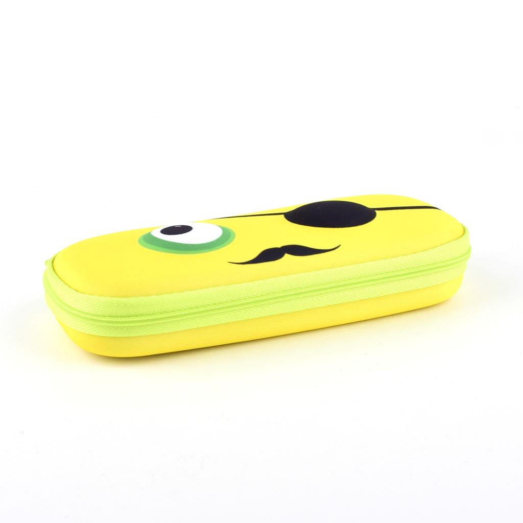 """Peračník 1-zipsový """"Beast box"""", etue, prázdny, žltý"""
