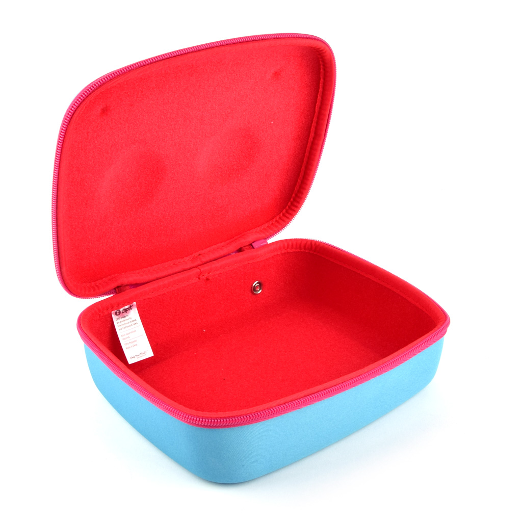 "Úložný box 1-zipsový ""Beast box Jumbo"", s uchom, prázdny, modrý"