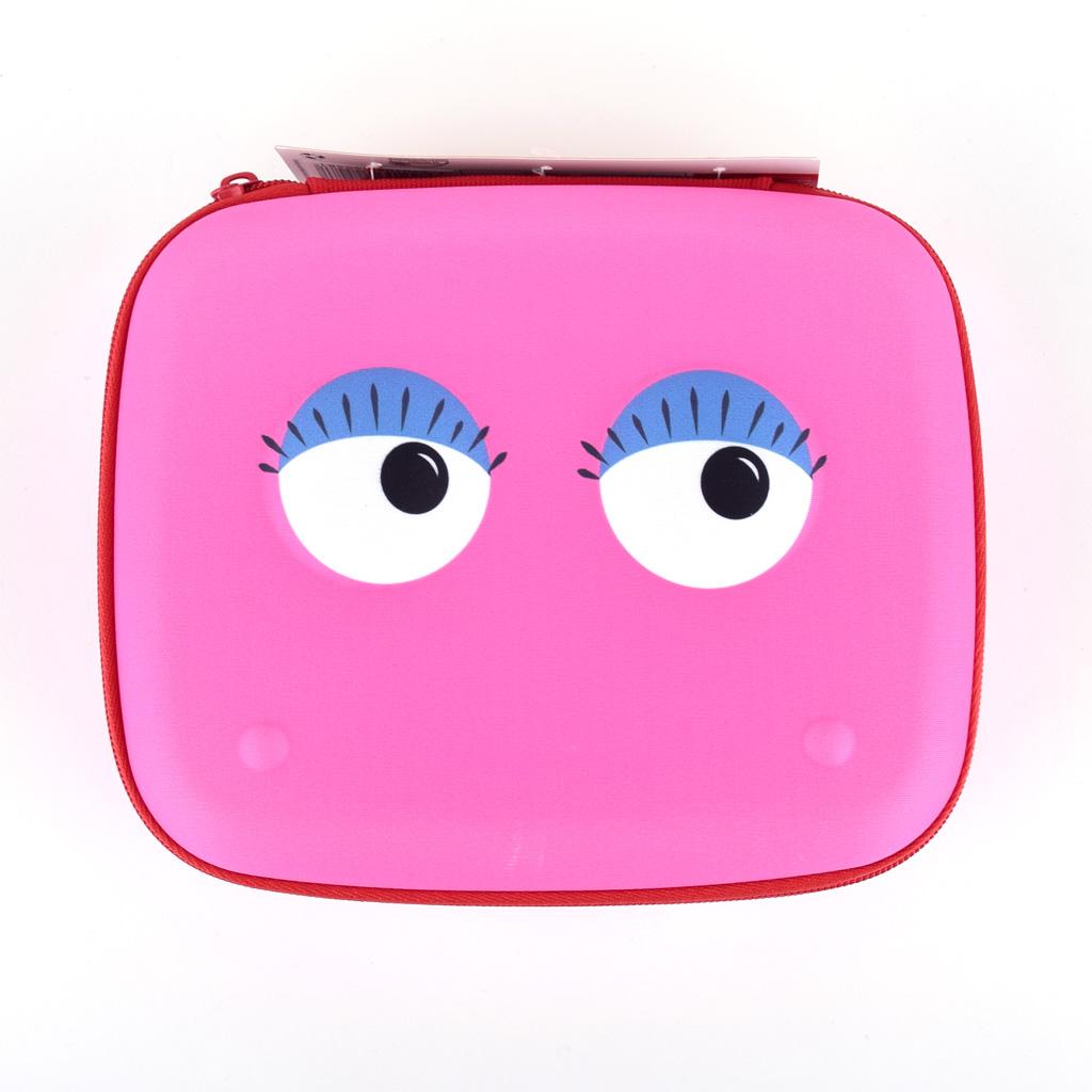 """Úložný box 1-zipsový """"Beast box Jumbo"""", s uchom, prázdny, ružový"""