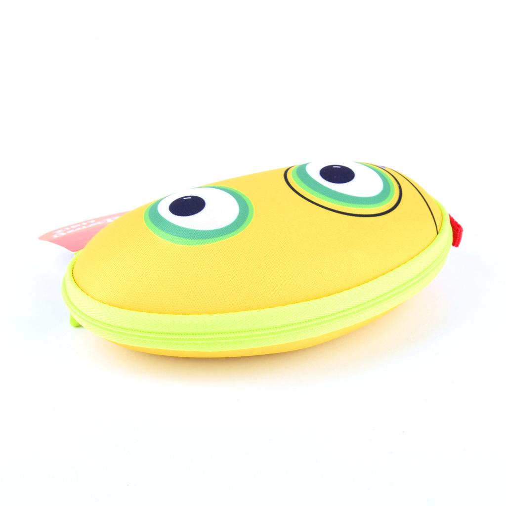 """Puzdro na okuliare """"Beast box"""", žltý"""