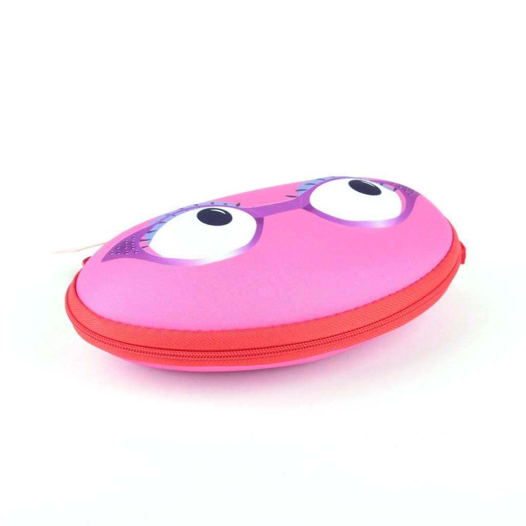 """Puzdro na okuliare """"Beast box"""", ružový"""