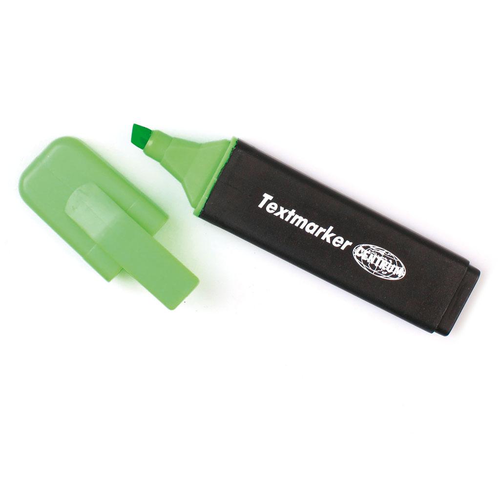 Zvýrazňovač 6 mm - zelená