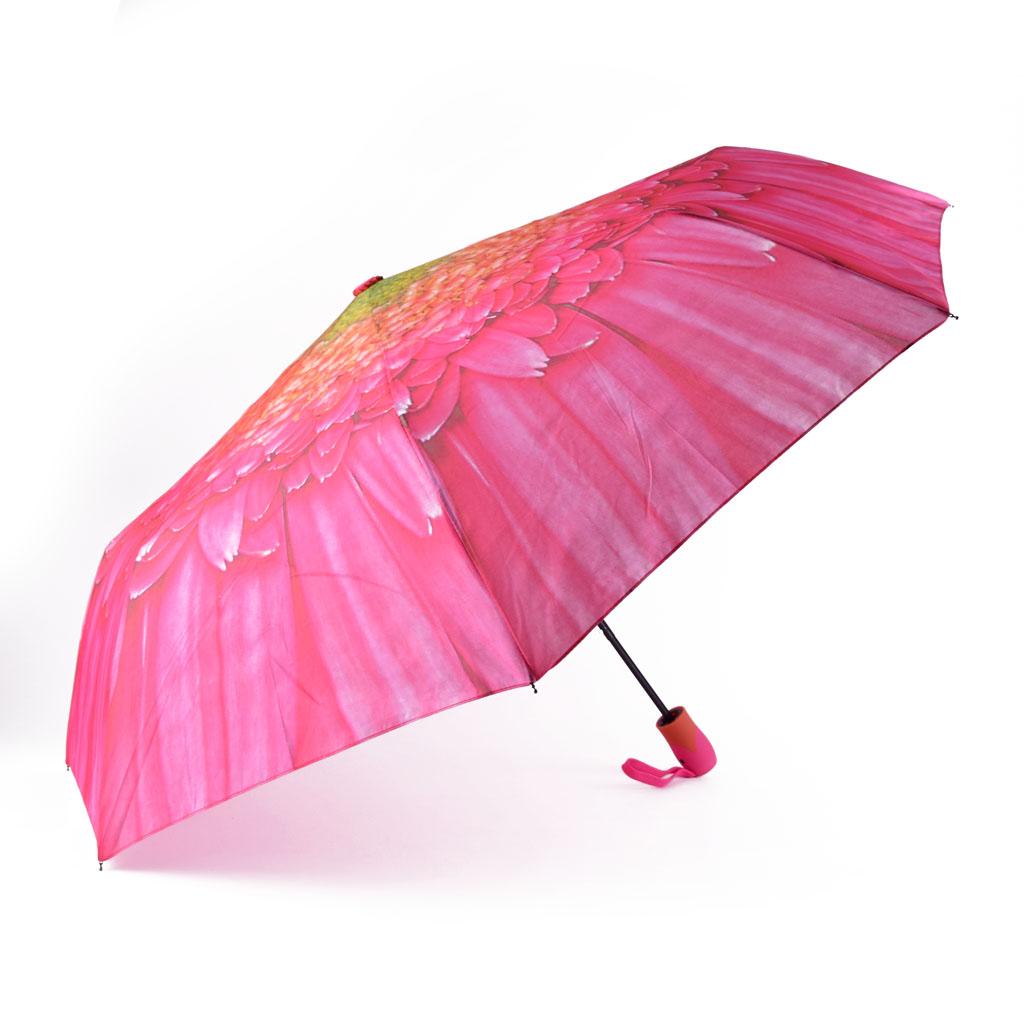 Dáždnik skladací, kvet, mix motívov