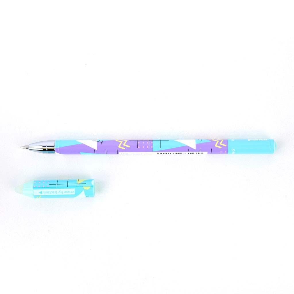 """M&G Pero gumovateľné """"Hello pencil""""  0,5mm, modrá náplň, mix motívov"""