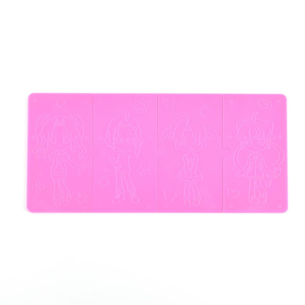 M&G Farbičky voskové / 12 ks, dievčenský motív