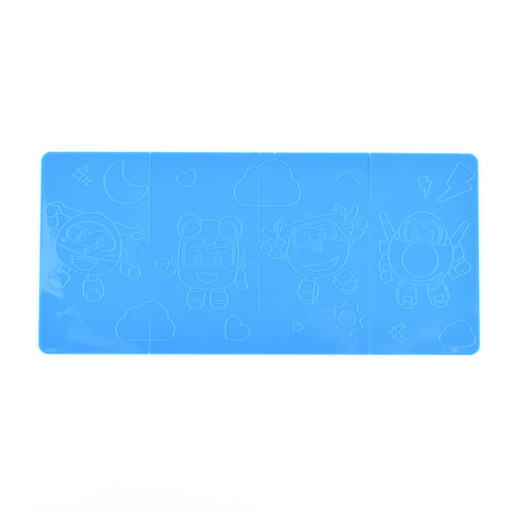 M&G Farbičky voskové / 12 ks, chlapčenský motív