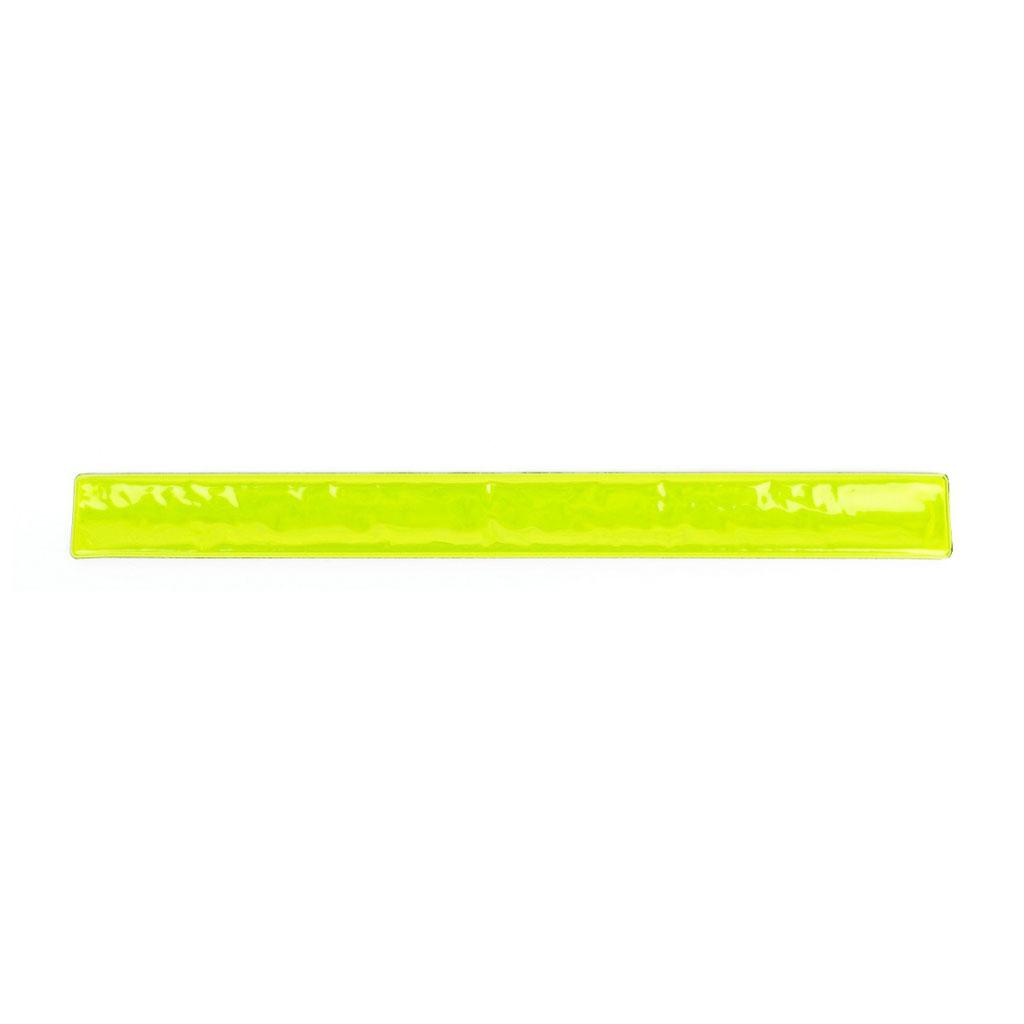 Reflexný náramok žltý