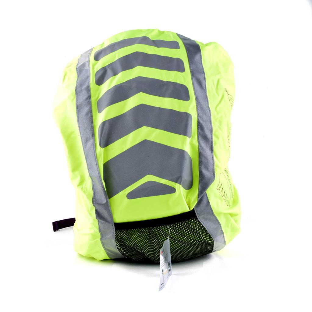 Reflexný, vodeodolný obal na batoh, 36l, mix farieb