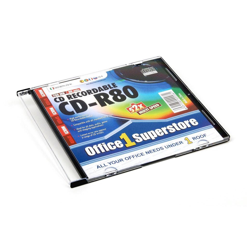 O1S CD-R 80 min 700 MB 52x, slim box