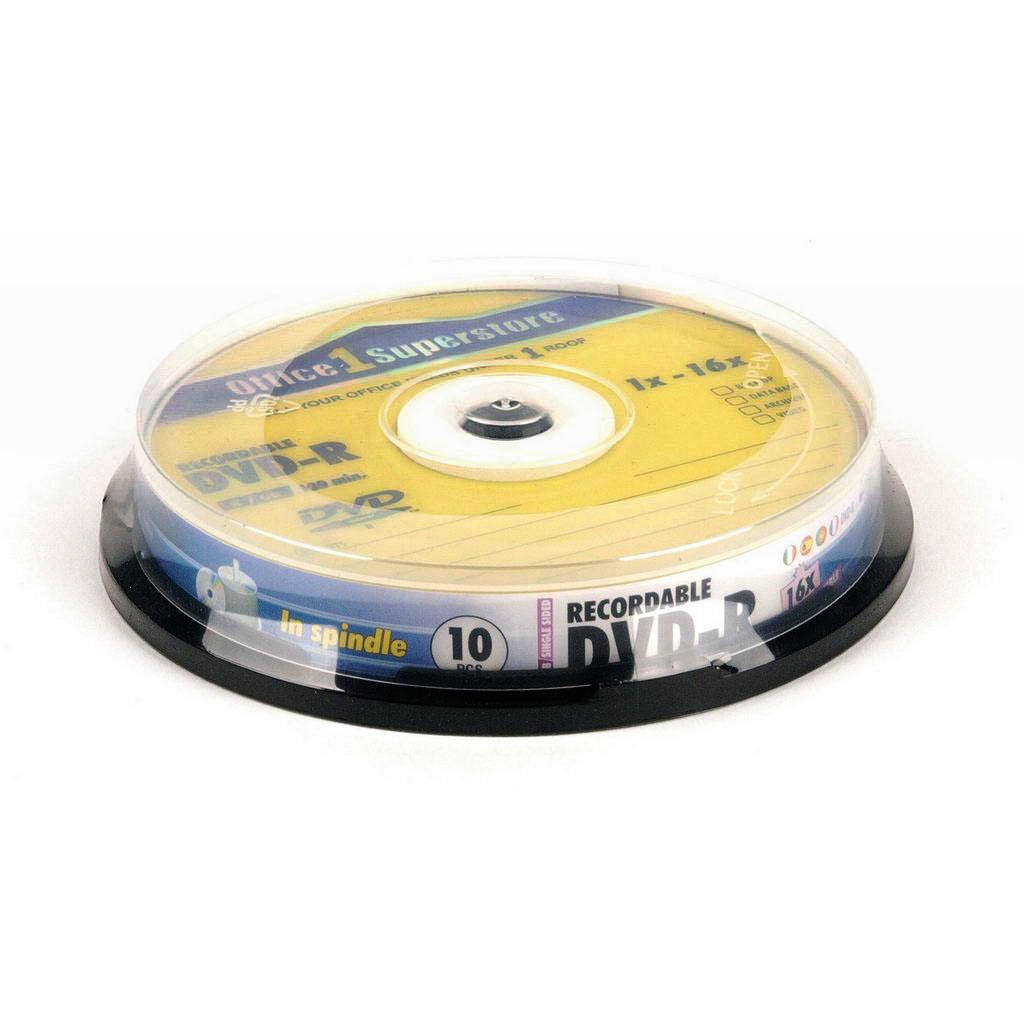 O1S DVD-R 4.7 GB 16x / 10 ks, cake box